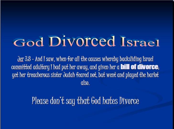 Divorce israel